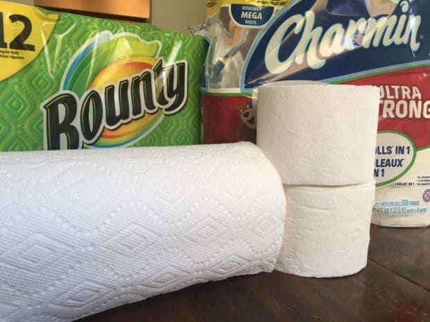 Bounty and Charmin for Tailgating