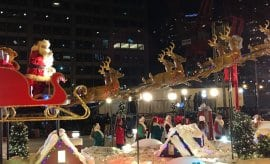 Chicago Festival of Lights Santa Claus