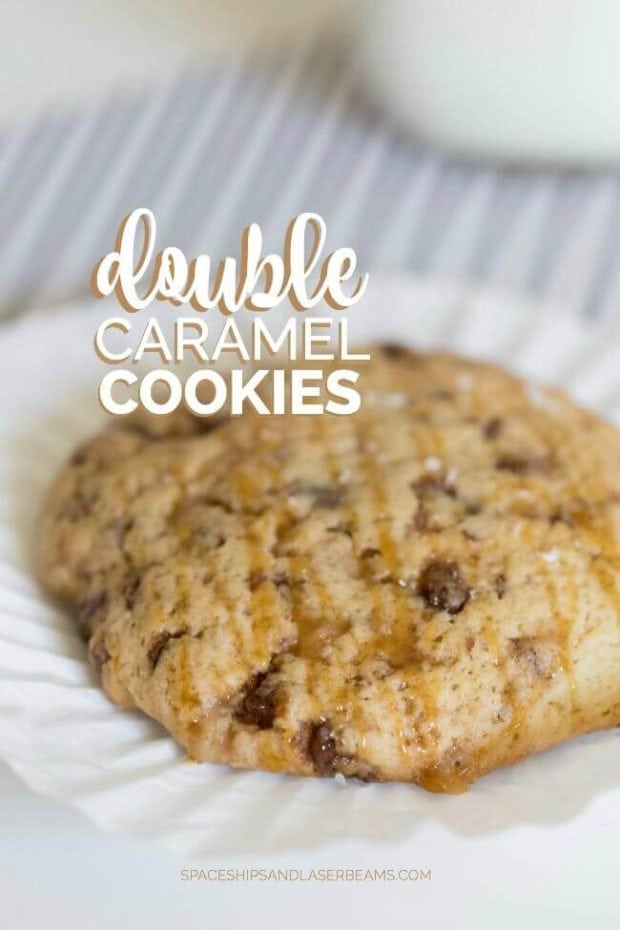 Double Caramel Cookies