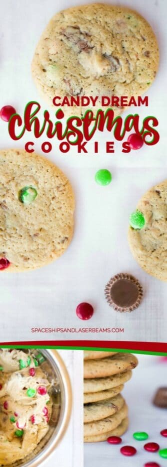 Candy Dream Christmas Cookies