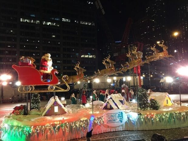 Santa Claus at Festival of Lights