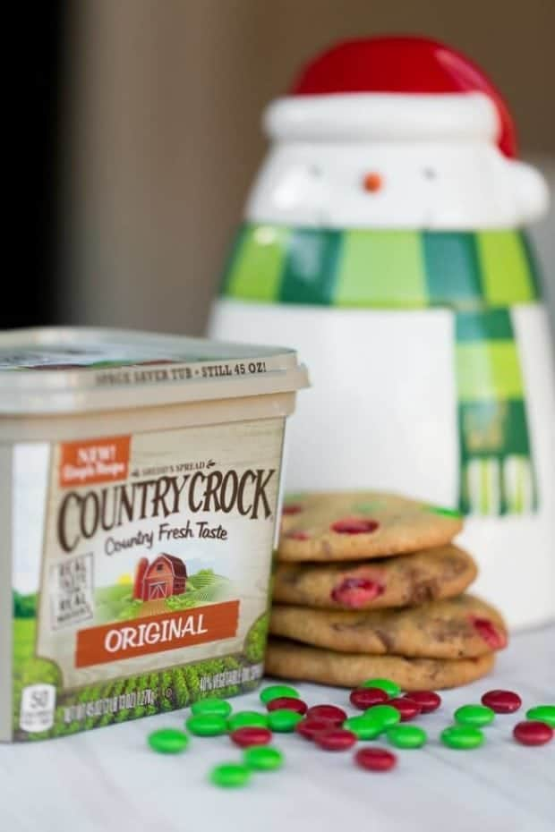 Easy Country Crock Christmas Cookie Recipe