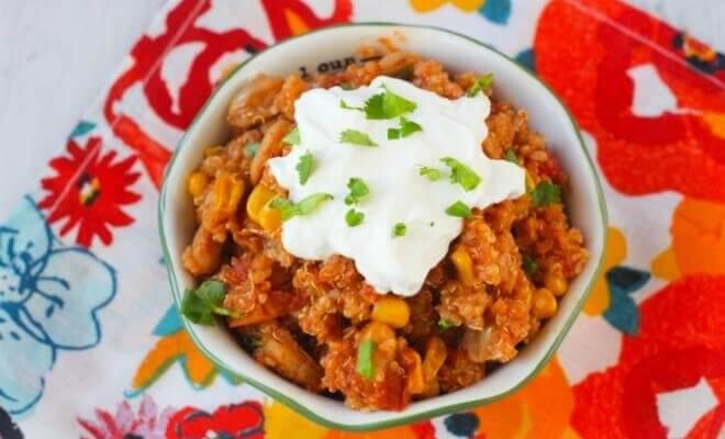 Corn and Quinoa Recipe
