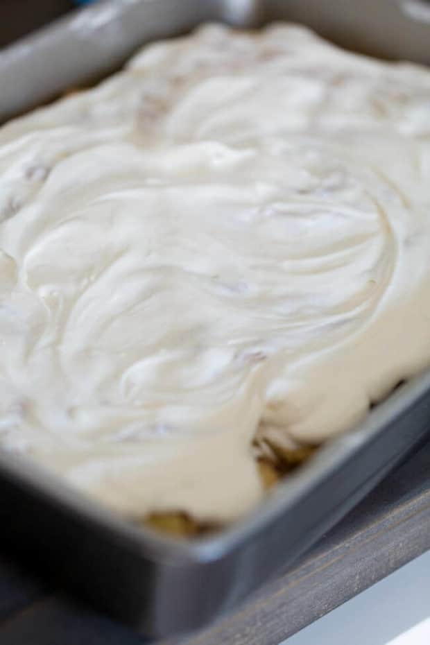 Frosting for Cinnamon Rolls