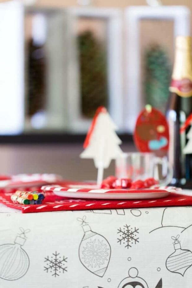 Easy Kids' Christmas Table Ideas