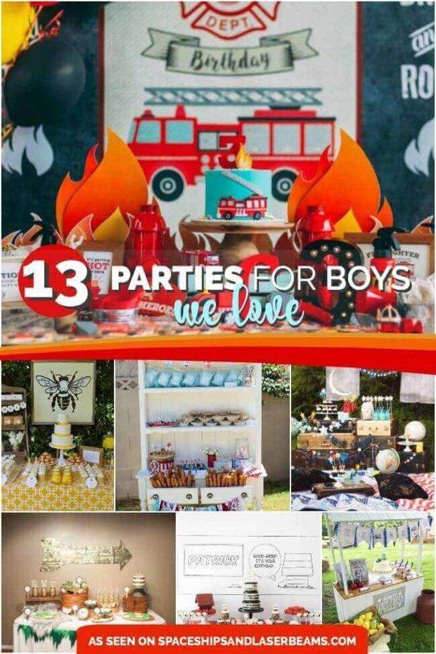 Best Boy Birthday Party Ideas
