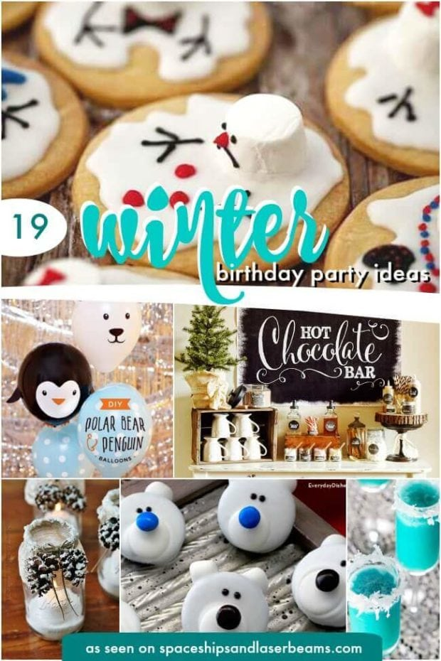 Winter Themed Birthday Party Ideas For Boys