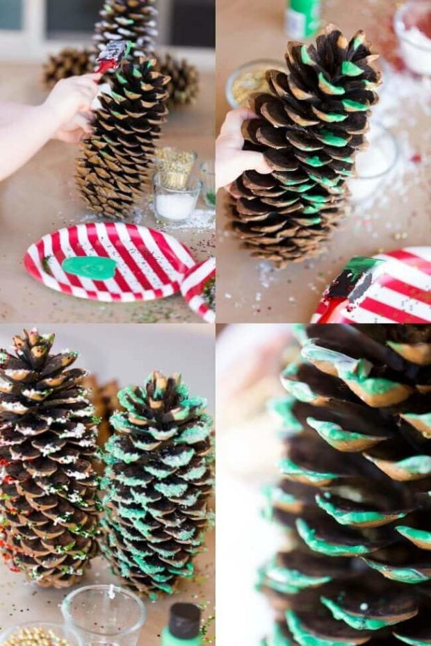 Pine Cone Ornament Craft