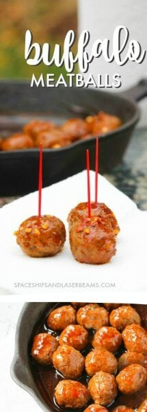 Buffalo Meatball Recipe