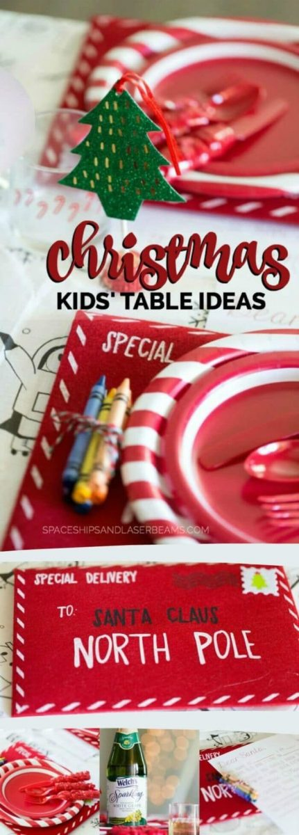 Christmas Kids' Table Ideas