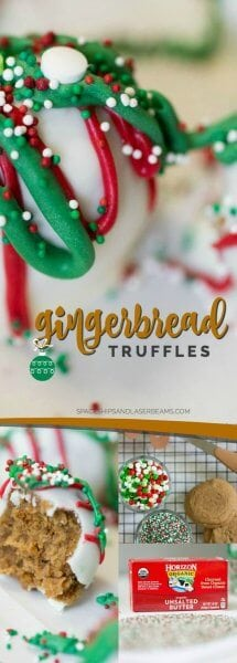 Easy Gingerbread Truffles Recipe