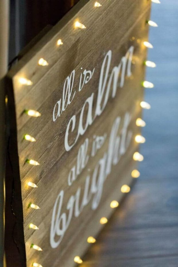 Easy DIY Wooden Sign