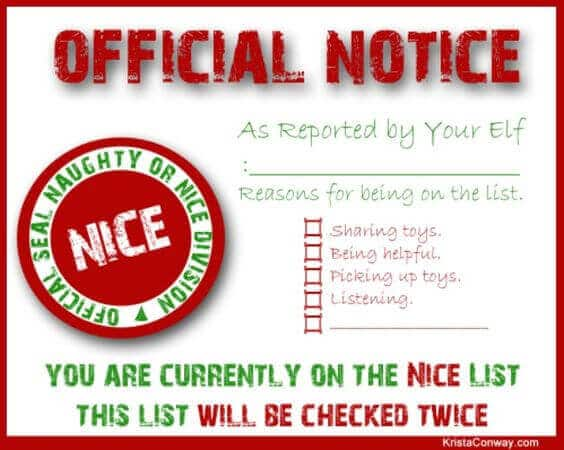 Free Printable Official Santa Letter