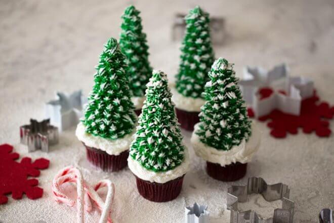 21 Creative Christmas Cupcake Ideas Spaceships And Laser Beams