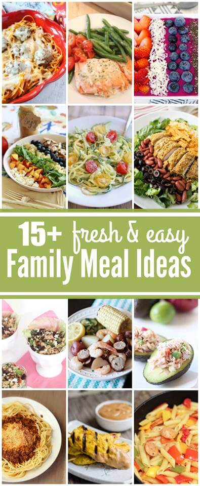 15 Fresh & Easy Family Meals