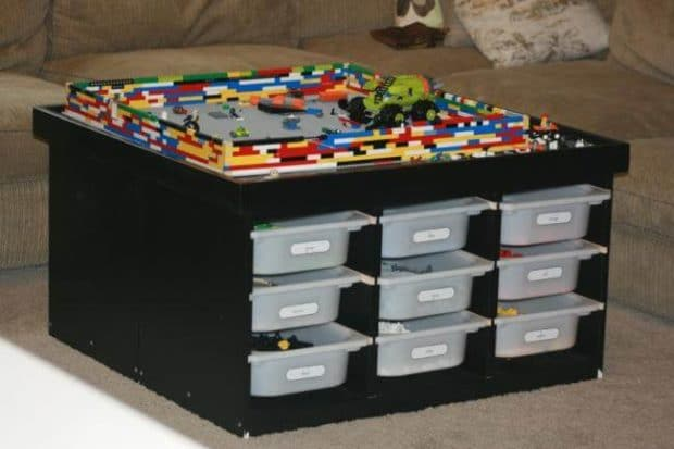 28 Lego Tables with Storage for Huge Lego Fans