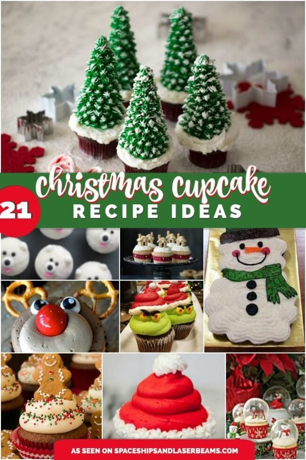 21 Creative Christmas Cupcake Ideas Spaceships And Laser Beams
