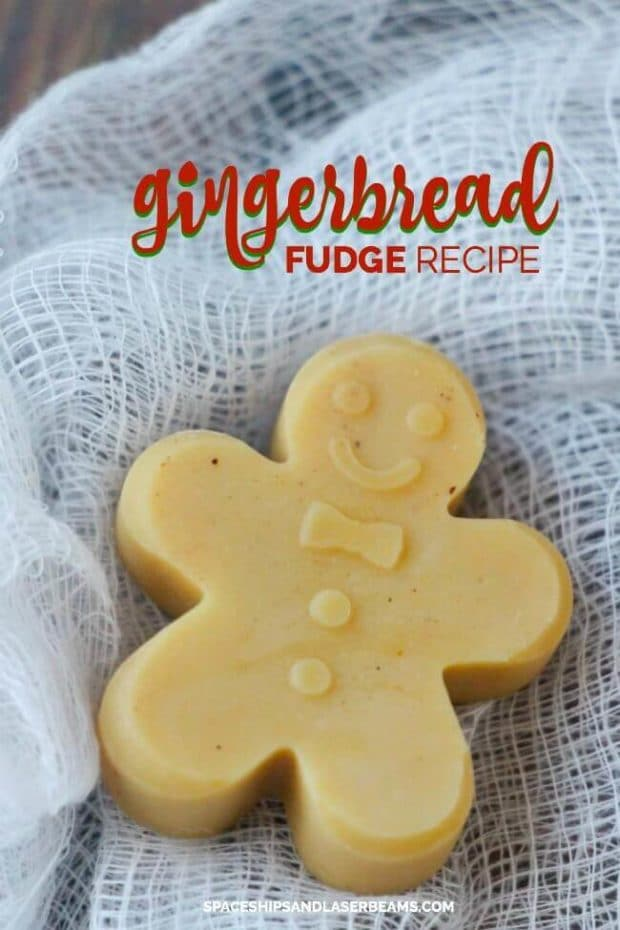 Easy Gingerbread Fudge Recipe