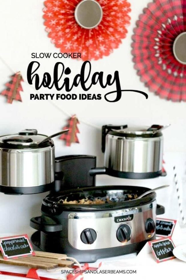 Slow Cooker Holiday Party Food Ideas