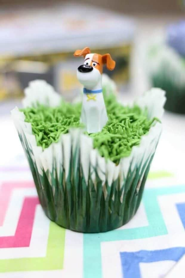 Secret Life of Pets Cupcake Ideas