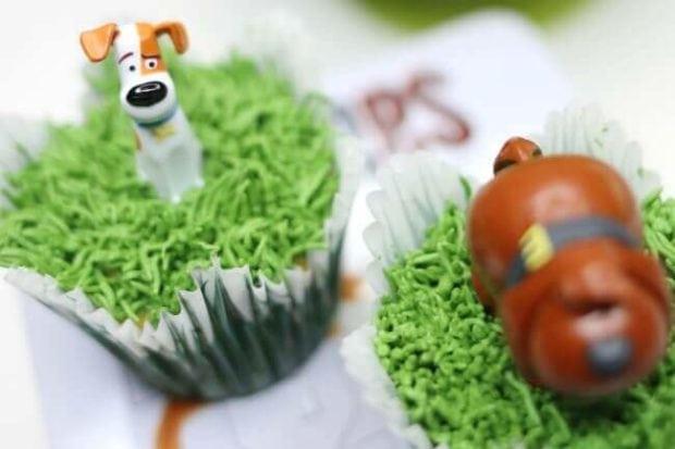 Secret Life of Pets Cupcakes
