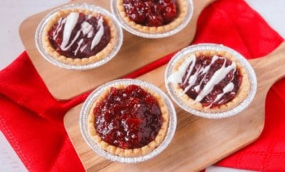Cranberry Apple Tart Recipe