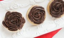 Chocolate Rose Cookie