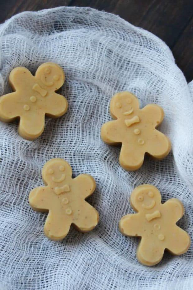 Gingerbread Man Fudge Recipe