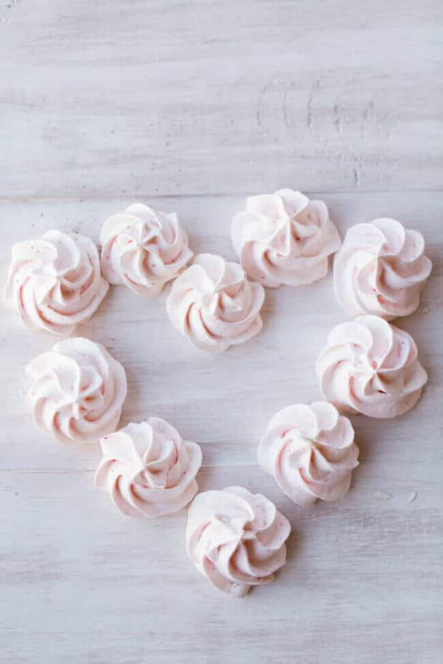 Peppermint Meringue Recipe