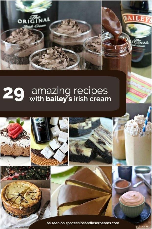 Recipes with Bailey's Irish Cream
