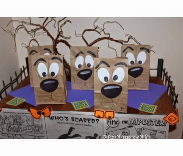 DIY Scooby Doo Party Favor Bags