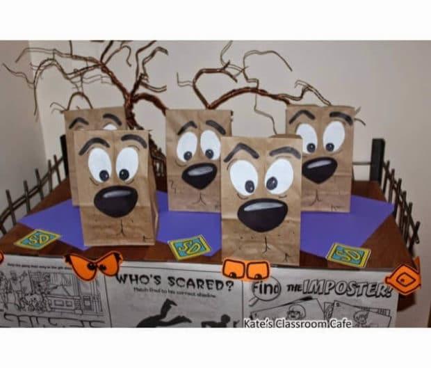 DIY Scooby Doo Party Favor Bags
