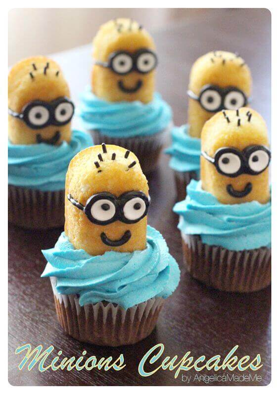 These Twinkie Minion Cupcakes Are Adorable And Easy Perfect For A Despicable Me Party