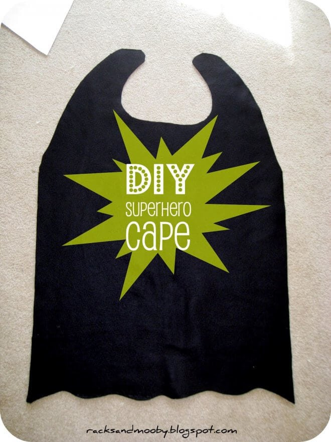 Boys No-Sew Batman Cape