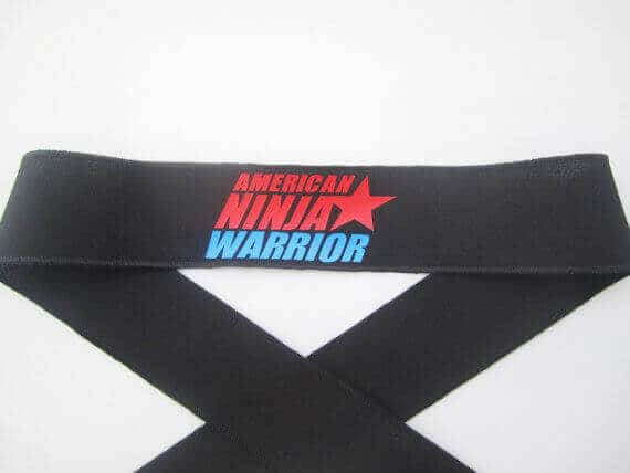 American Ninja Warrior Headband Favors