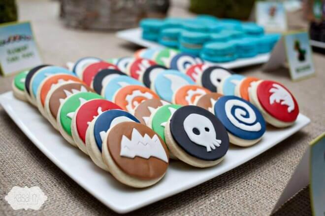Skylanders Cookies