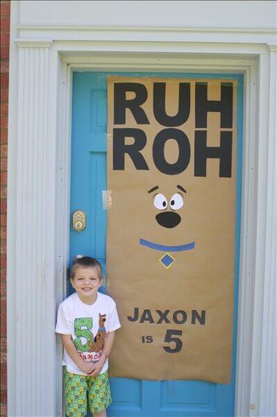 Scooby Doo Front Door Decoration