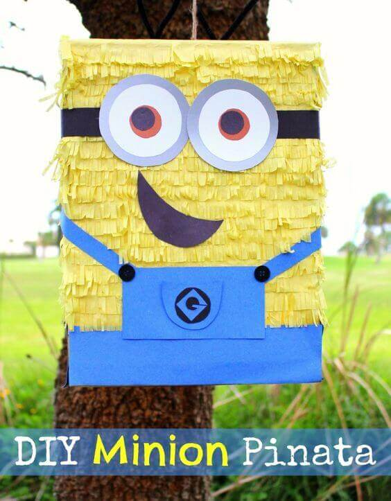 Make your own Minion Pinata with this simple DIY guide!