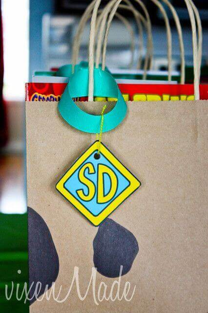 Scooby Doo Favor Bag