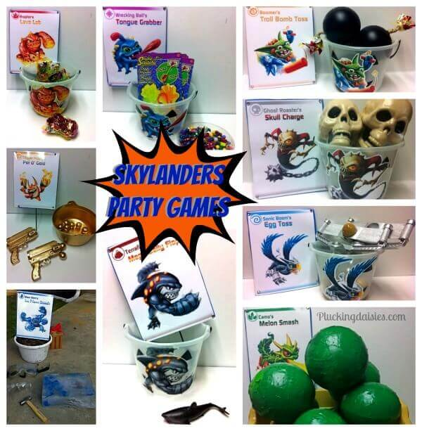 Skylanders Giants Party Games
