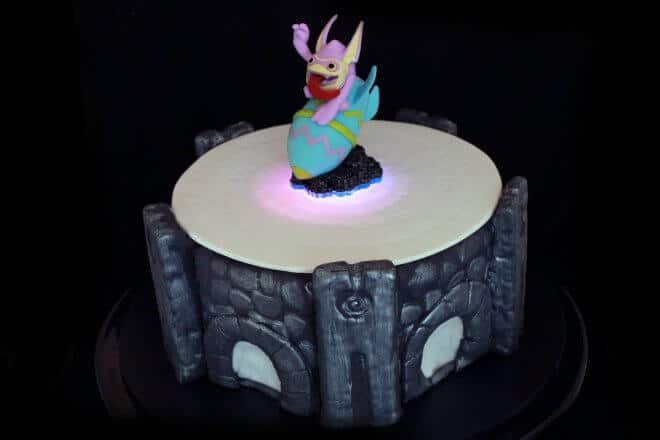 Light Up Portal of Power Cake