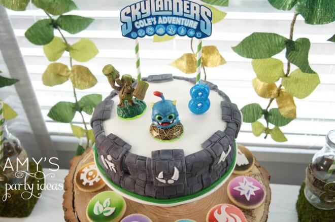 Groovy 17 Rad Skylanders Birthday Party Ideas Spaceships And Laser Beams Funny Birthday Cards Online Elaedamsfinfo