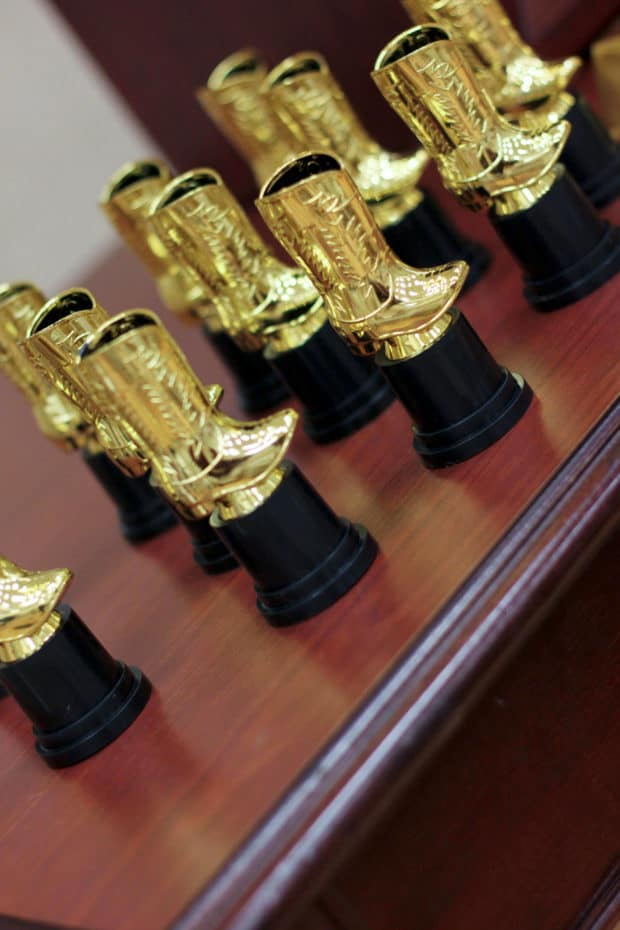 Cowboy Boot Trophies