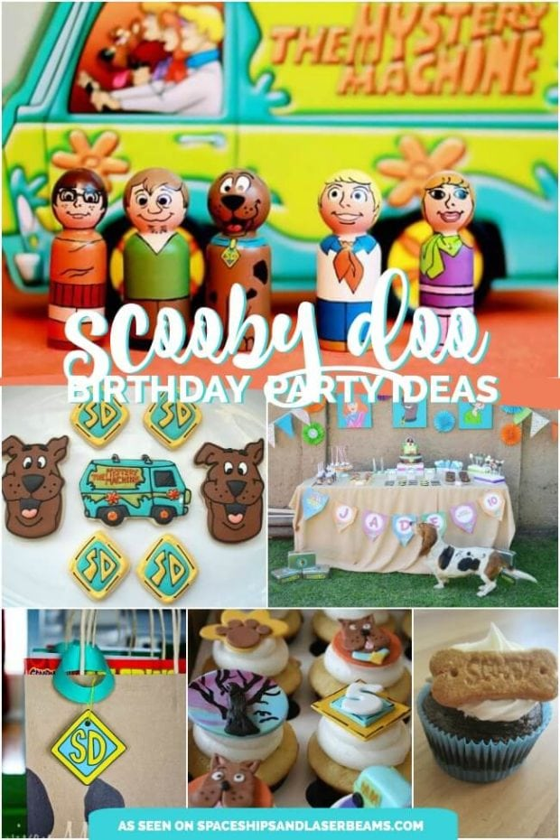 18 Sensational Scooby Doo Party Ideas Spaceships and Laser Beams