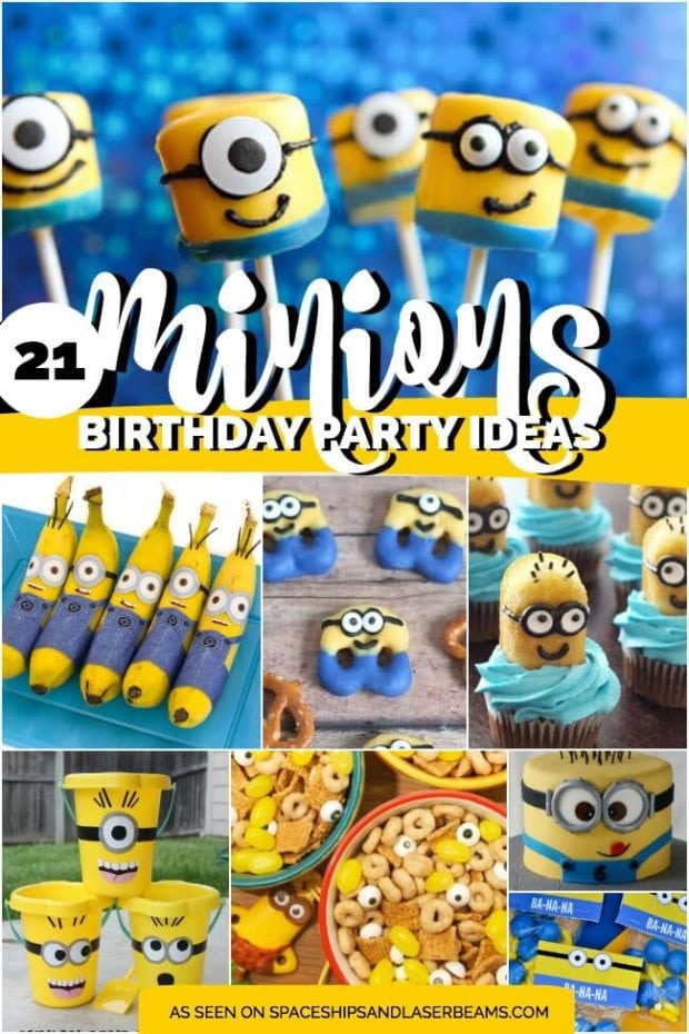 These 23 Minion Birthday Party Ideas Collected By Spaceships And Laser Beams Are Truly Inspirational