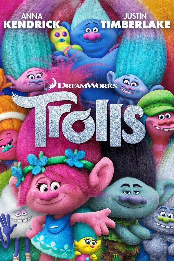 Family Movie Night: Rainbow Popcorn + Trolls | Spaceships ...
