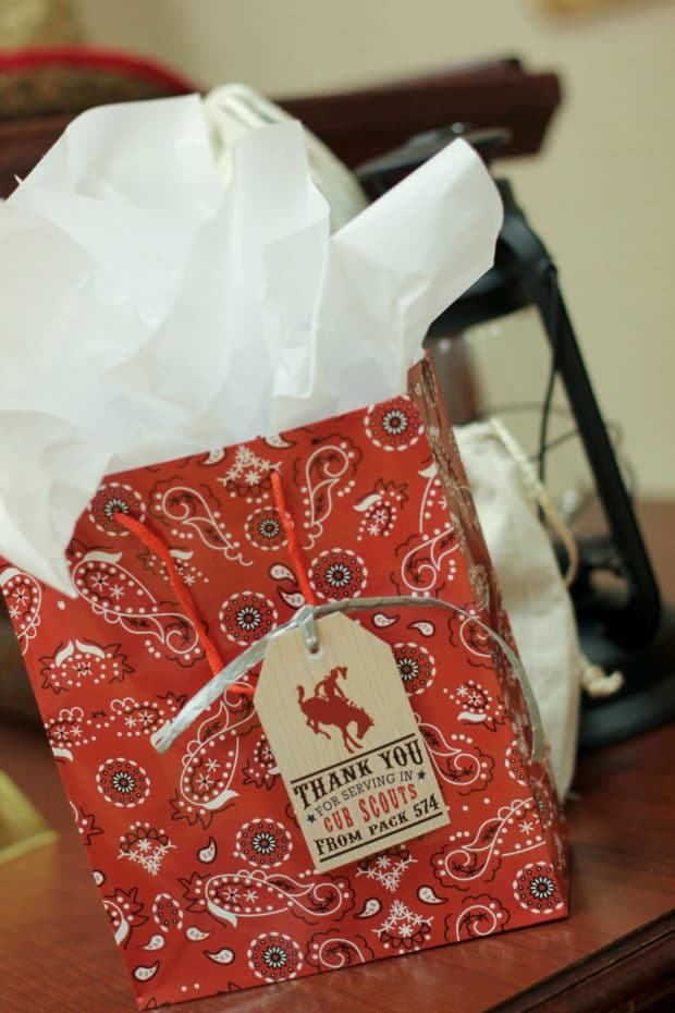 Western Birthday Party Favor Bags