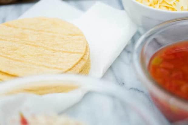 Easy Enchilada Ingredients