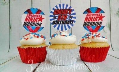 American NInja Warrior Birthday Party
