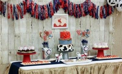 Cowboy Birthday Party Ideas